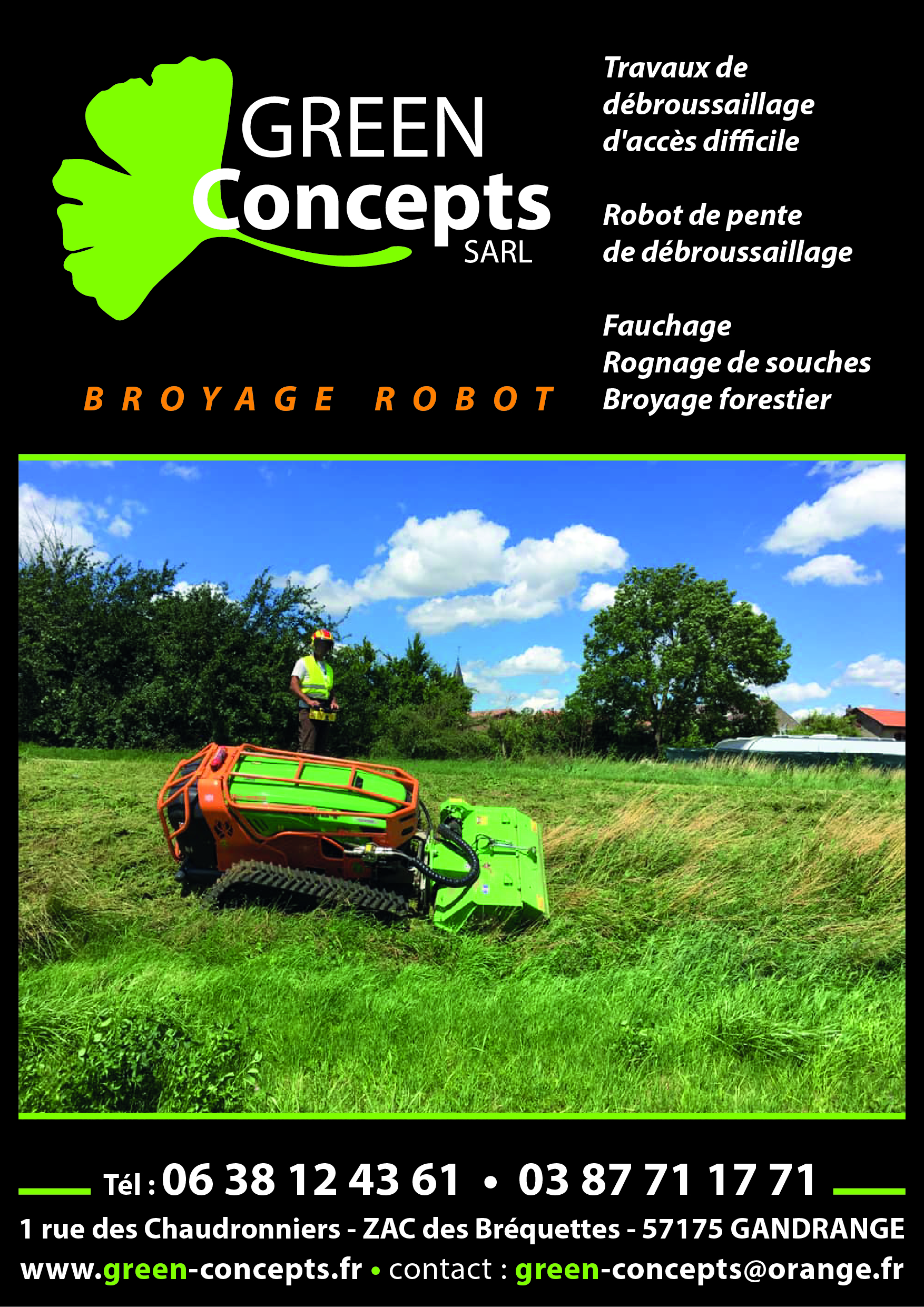 broyage forestier